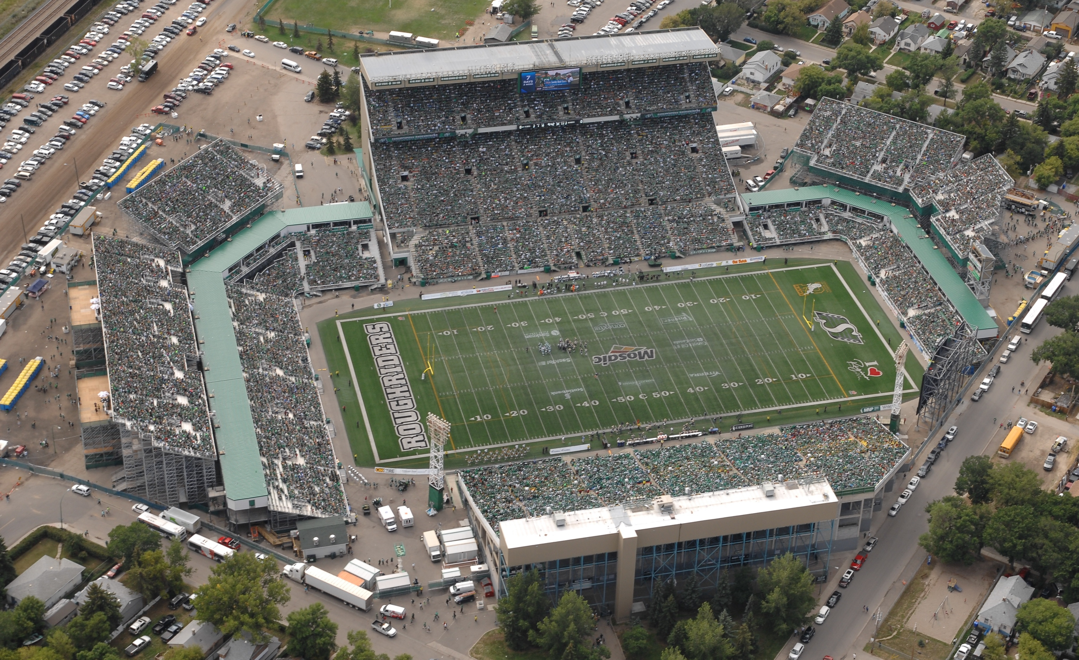 Stadium Tips Saskatchewan Roughriders